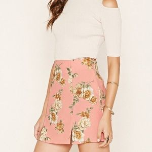 🎉5 for $25🎉 Forever 21 Floral Skirt Size Small